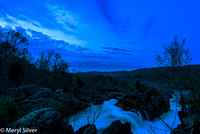 Great Falls Blue Hour